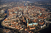 Old Town (UNESCO World Heritage Site), Luebeck, Schleswig Holstein, Germany