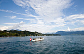 MS Rütli on Lake Lucerne, Switzerland