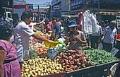 Fruit and vegetables, Market, San Jose, Costa Rica