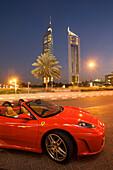 Dubai Sheikh Zayed Ferrari