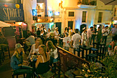 Spain, Baleares island, Ibiza bars nightlife