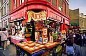 London, Notting Hill, antique shop, Alice
