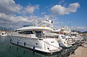 Mallorca, Poirt d Andratx, Marina, luxery yachts
