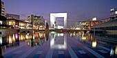 France, Paris, La Defense, Gran Arche, Grand Arch