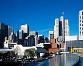 San Franciso Museum of Modern Art Skyline Moscone Center, USA