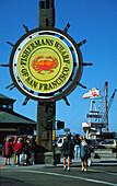 USA CA San Francisco fisherman´s wharf