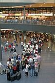Terminal C, Hall, check in, Airport, Zuerich, Switzerland