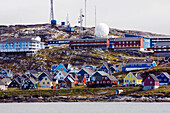 Nuuk, Greenlands Capital, a city of contrasts, Greenland