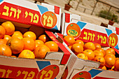 Close up of fresh oranges at the Dead Sea, Israel