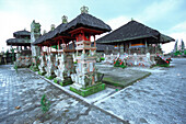 temple in kintamani, Bali, Indonesia, Asia, religion, tradition, culture, belief, hinduism, mystic, exotic, to worship, without people, tourism, sightseeing, landmark, travel