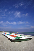 Pedal boats, Zings, Baltic Sea, mecklenburg-Western Pomerania, Germany