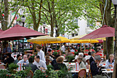 Restaurants at Place Guillaume, Luxembourg