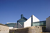 Modern Art Museum, Musee d'Art Moderne Grand-Duc Jean in the district of Kirchberg, Luxembourg