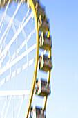 Ferris wheel at autumn fair in Luxembourg