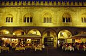 Restaurante Grifone, Piazza delle Erbe, Mantua, Lombardei, Italien