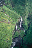 Canyon, Trou de Fer in Cirque de Salazie, La Reunion, Indian Ocean