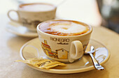 Cappuccino, Pienza, Tuscany, Italy