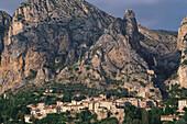 Mountain village, Moustiers Sainte Marie, Provence, France