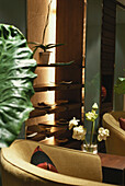 Lobby Lounge in Hotel Banyan Tree Spa, Holiday, Luxus, Entspannung, Bangkok, Thailand