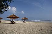 View of China Beach and Sea, Sandy beach, Furama Resort, Holiday, Danang, Vietnam