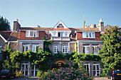 Aussenaufnahme von Hotel Longuevelle Manor, Uebernachtung, Jersey, Kanalinseln, Großbritannien