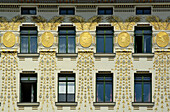 Linke Wienzeile from Otto Wagner, Art Nouveau style, Vienna, Austria