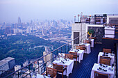 Moonbar is the roof top bar of the Banyan Tree Hotel in Bangkok, Thailand