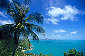 View over Chaweng Bay on the east coast of Koh Samui, Thailand