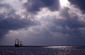 Ship wreck, Silverbanks, Caribbean Sea, Dominican Republic