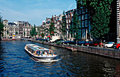 Canal Boat Ride , The Netherlands, Holland, Amsterdam