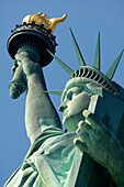 The Statue of Liberty, Miss Liberty, Manhattan Island, Manhattan, New York City, New York, USA