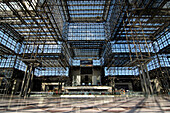 Interior view of the Javits Convention Center, 34th Street, 11th Avenue, New York City, New York, USA, America
