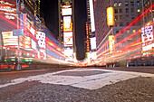 Traffic on Times Square, Manhattan