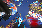 Evening on Times Square, Manhattan
