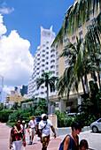 Hotel Delano, Collins Avenue, South Beach, Miami, Florida, USA