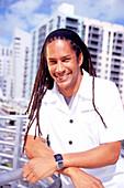 Executive Chef Govind Armstrong, Restaurant Table 8, South Beach, Miami, Florida, USA