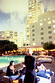 Skybar at Shore Club, South Beach, Miami, Florida, USA