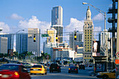 Street impression, Downtown, Miami, Floria, USA