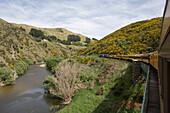 Taieri Gorge Railway, Near Dunedin, Otago, South Island, New Zealand