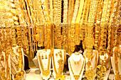 Gold Souk in Dubai, United Arab Emirates, UAE