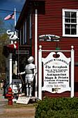 Antique shop on Main Street, Essex, Massachusetts