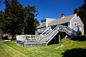 A house at Nauset Bay, Orleans, Cape Cod, Massachusetts, USA