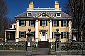 Historisches Gebäude, Longfellow House, Cambridge, Massachusetts, USA