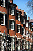 Houses and property in Historic Beacon Hill, Boston, Massachusetts, USA
