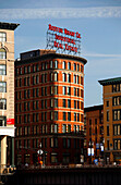 View of buildings in South Boston, Boston, Massachusetts, USA