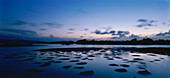 Low tides, Albufera, Refugio de Fauna Silvestre de Cuare, Venezuela, America