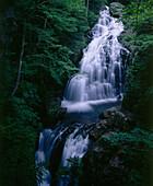 Crystal Cascade, White Mountains, New England, Vermont, USA, America