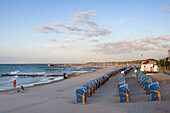 Beach, Kuehlungsborn, Baltic Sea, Mecklenburg-Western Pomerania, Germany