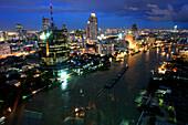 Skyline of Bangkok, Thailand, Asia