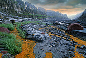 Acidic streams at Mount Pinatubo, Pinatubo volcano, Luzon Island, Philippines
